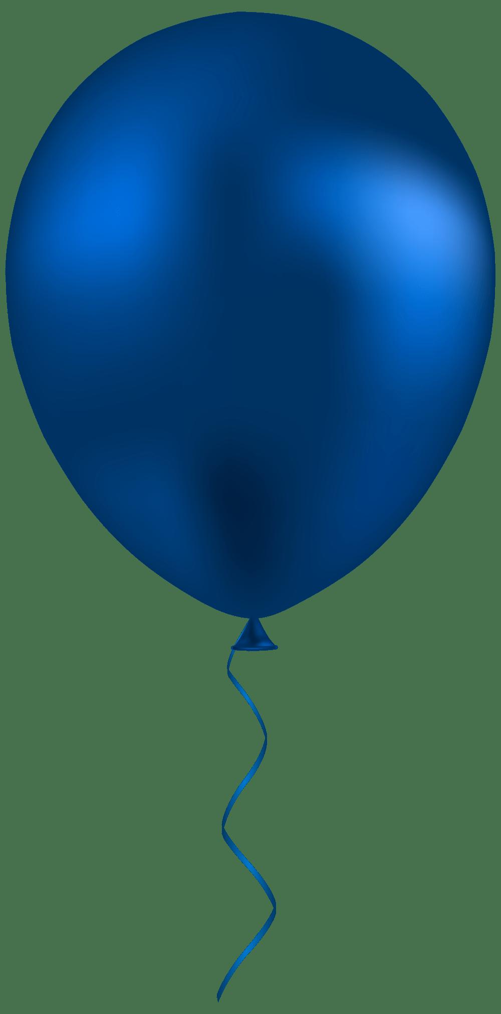 medium resolution of dark blue balloon png clip art