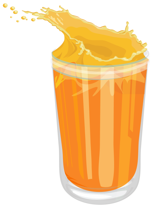 small resolution of fresh orange juice png clipart