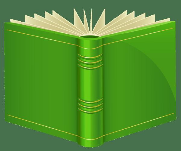 Green Book Clipart - Web