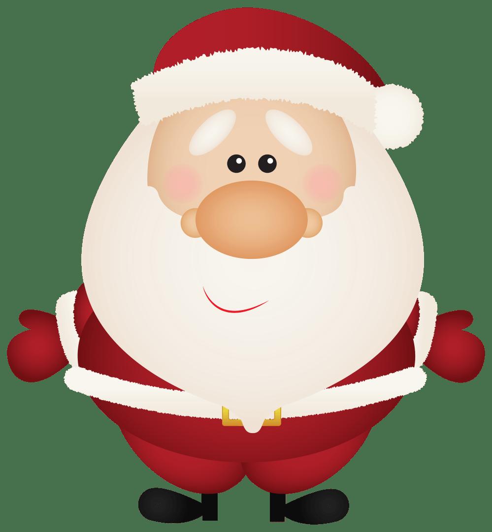 medium resolution of santa claus cartoon png clipart