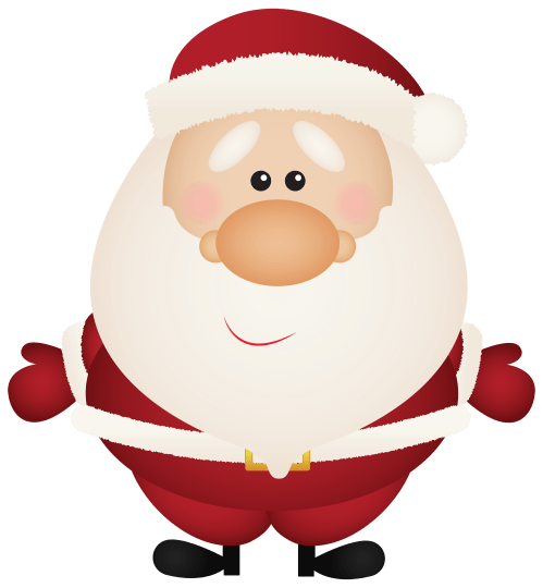 small resolution of santa claus cartoon png clipart