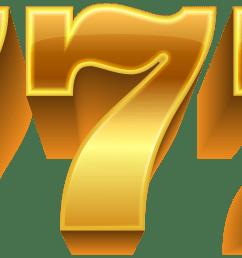 three seven jackpot png clip art [ 8000 x 3352 Pixel ]