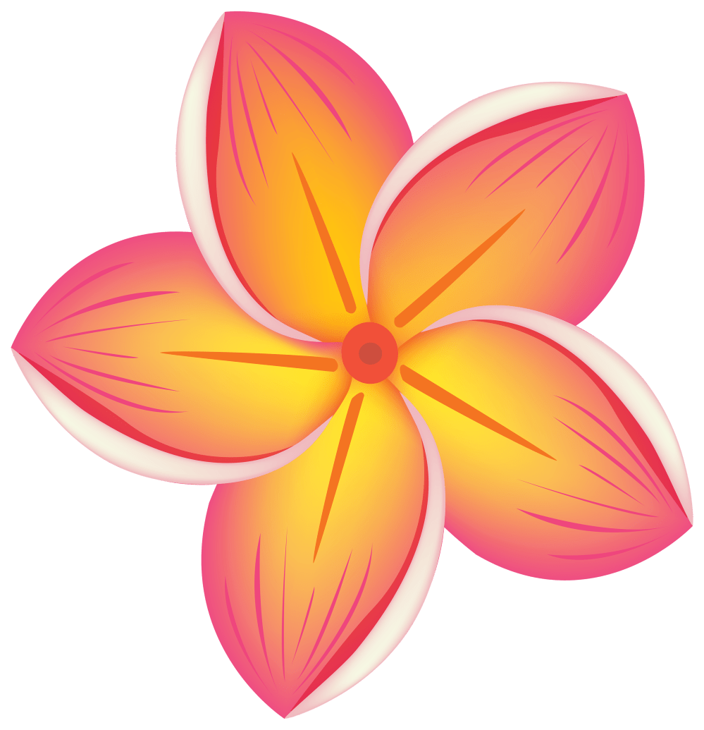 medium resolution of tropical flower png clipart