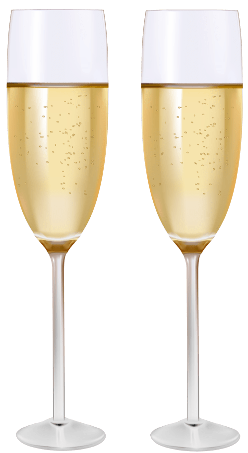 small resolution of two glasses of champagne png clipart
