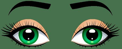 occhi verdi e carattere