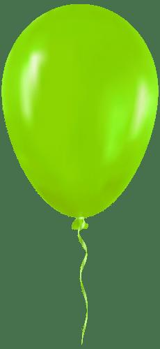 green balloon clip art