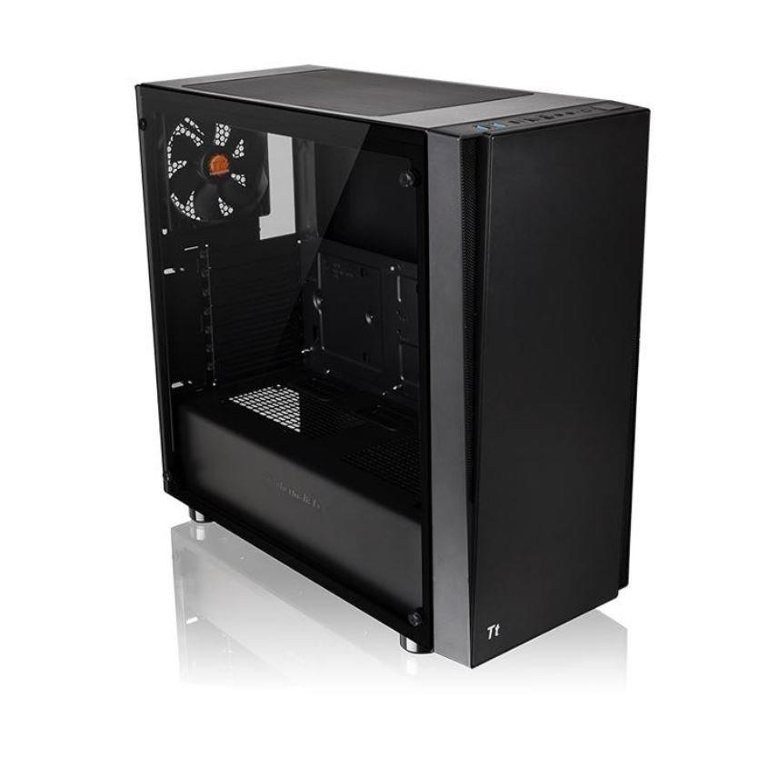 Thermaltake Versa J21 TG: Schlichtes 60-Euro-Gehäuse mit Echtglasfenster - ComputerBase