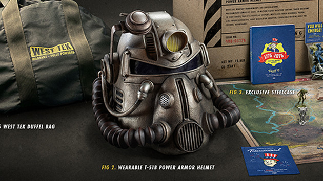 Fallout 76 Collectors Edition Fr 200 Euro Mit T 51b Helm ComputerBase