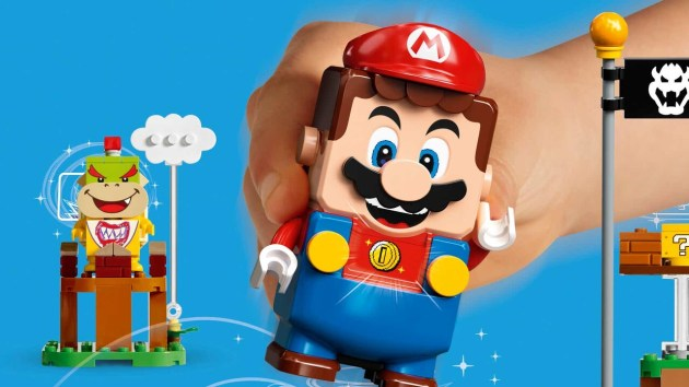 Lego Super Mario: an Interactive game worlds come in 2020