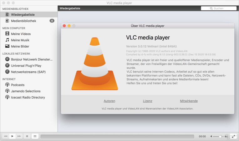 VLC for MacOs now supported: Download it here