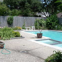 """landscaping of """"pool area"""""""