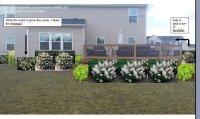Beginner Gardening: Backyard Landscape around Deck, 1 by ...
