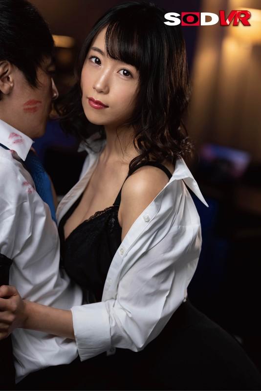 【VR】結婚間近で幸せ絶頂な僕を唇が狂わせる!キス魔の女上司からの舐め… のサンプル画像 2枚目