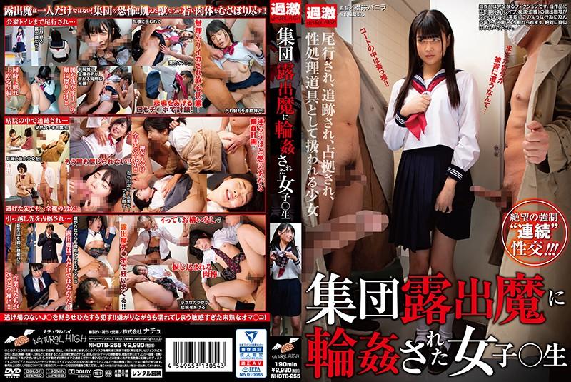 NHDTB-255 集団露出魔に輪姦された女子○生