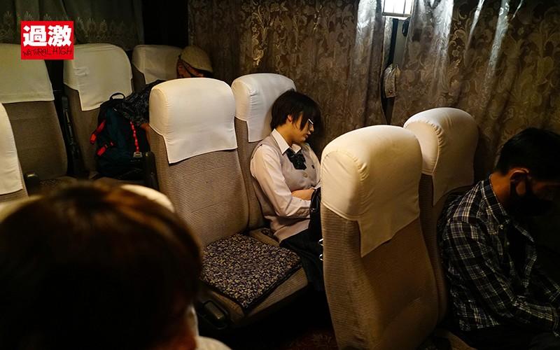 夜行バスで声も出せずイカされた隙に生ハメされた女はスローピストンの痺れる快感に理性を失い中出しも拒めない 女子○生限定66