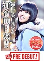 「河合向日葵(19) 褐色の美巨乳少女 デビュー前の未公開初SEX」のサンプル動画