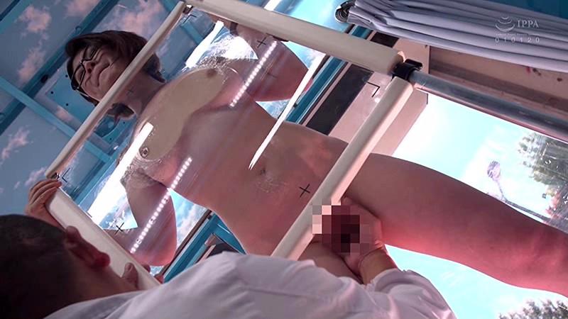 マジックミラー号巨乳OLエッチな健康診断 画像3