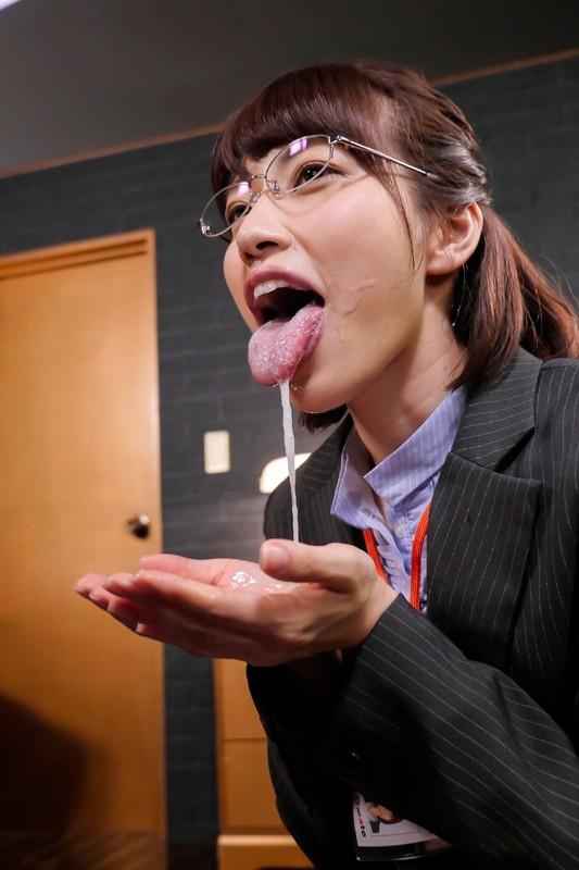 市川まさみ イヤらしくジュポ音立てながら何度も舌なめずり唾液ダラダラ垂れ流し続ける特濃おフェラサンプルイメージ17枚目