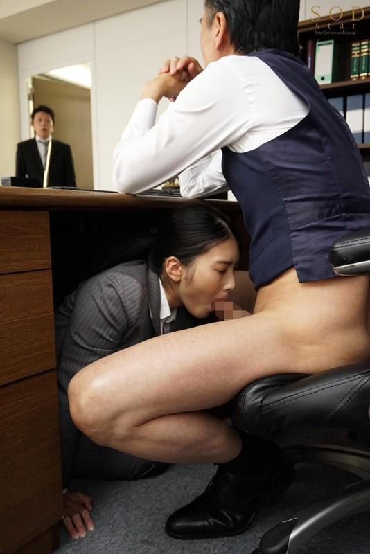 本庄鈴 誰もが振り返る長身パンツスーツOLと禁断の社内性交サンプルイメージ11枚目