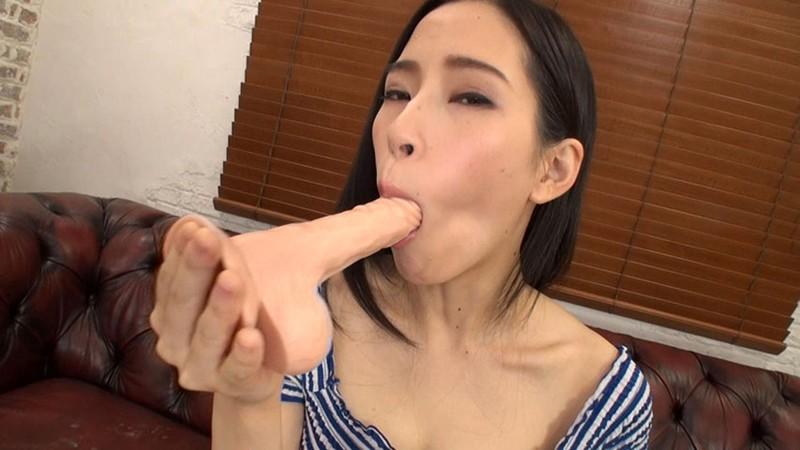 素人娘 初めての腰ふりディルドオナニー 4 画像1