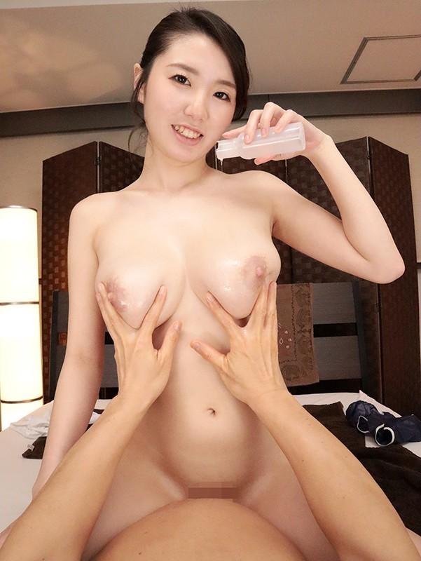 【VR】爆乳スレンダーHカップ!極上美女が最高のテクニックとヌルテカボディー… のサンプル画像 7枚目