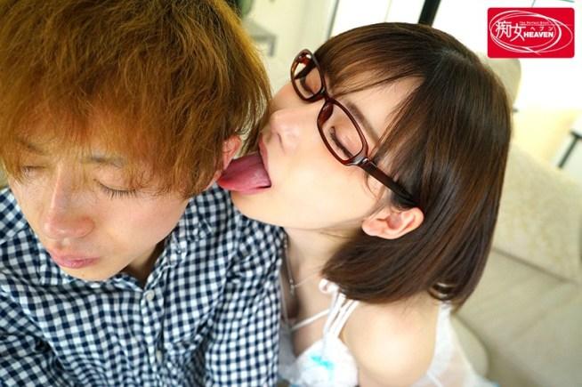 深田えいみのデカトロ舌16