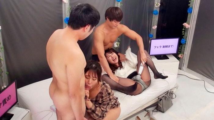 MM号特別編仲良しAV女優2人組が「心を合わせて脱出ゲーム」に挑戦!… のサンプル画像 4枚目