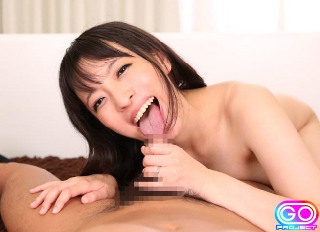 ましろ杏の長デカ舌2