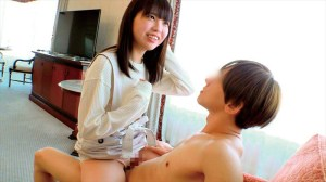 うぶな素人女子大生限定!馬乗りハァハァ腰くいくい性交体験!照れ顔見ながら… のサンプル画像 16枚目