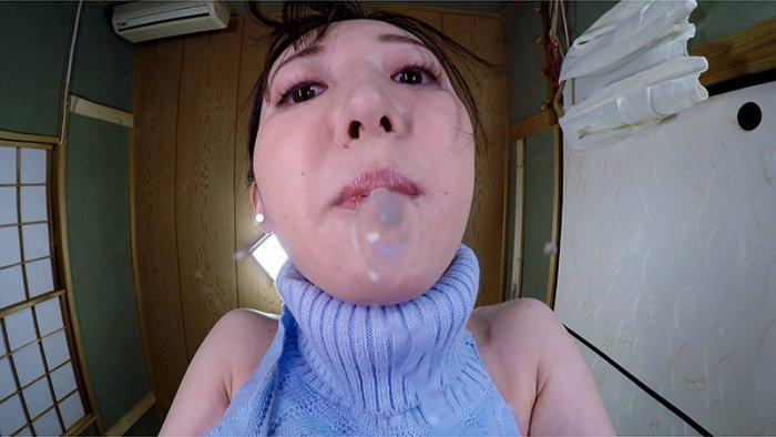 【VR】変態女体図鑑フェチVR顔中ペロンペロンの唾だらーんっのベッタベタ… のサンプル画像 10枚目