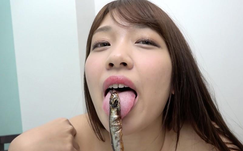 舌ベロフェチ 〜ししゃも舐め&咀嚼〜 木下ひまり2