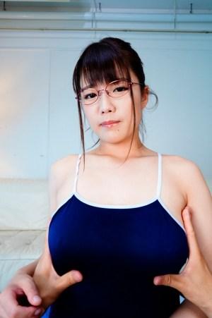 【VR】耳でも堪能!スクール水着に入りきらない妹と囁きセックス佐知子… のサンプル画像 12枚目