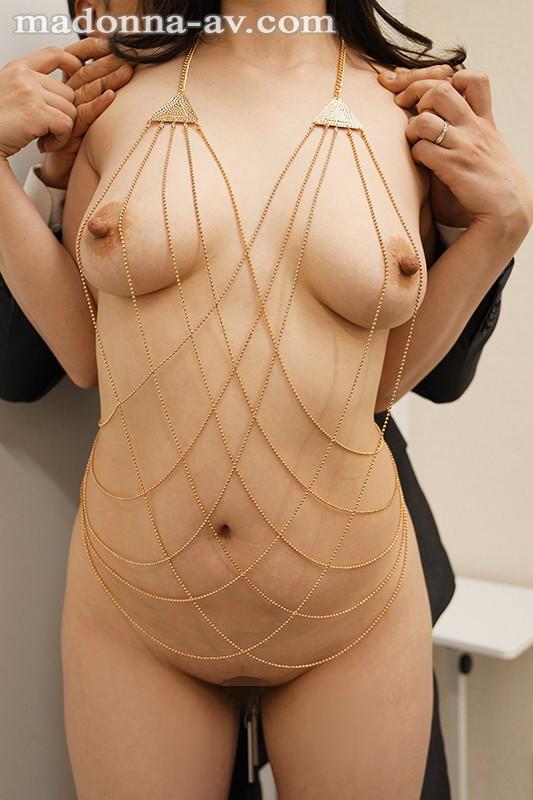 夫の上司に飾られた人妻ボディアクセサリー木下凛々子 のサンプル画像 4枚目