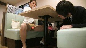 誘惑姉ギャル夏帆さんのヤリ過ぎオフィスカジュアル?!ぶっかけ!OLスーツ… のサンプル画像 9枚目