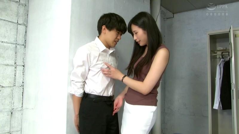 170cm長身痴女先生のい・け・な・いM男性教育 中条カノン1