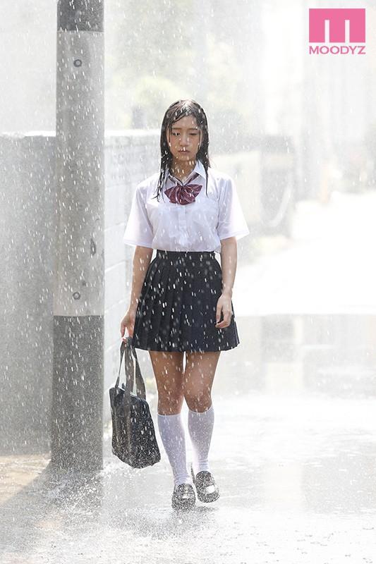 星奈あい 真夏の雨上がりねっちょり中年親父 濡れ透け汗だく濃厚性交サンプルイメージ1枚目
