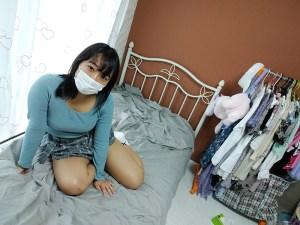 マスク着用を条件に撮影を了承してくれた普通の女子大生あかねちゃん21… のサンプル画像 1枚目