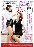 「社内管理される「女装美少年」女上司に乳首ドライ・アナルイキで支配サレテシマウ男の娘 澪( #クィーンロード)」のサンプル動画