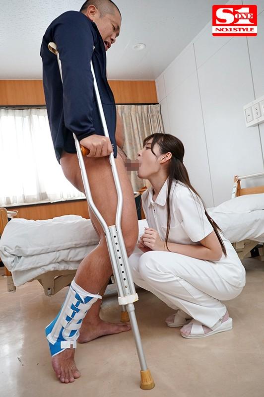 橋本ありな 身動き取れない患者を完全主導でセックス看護するエロ過ぎ世話好き新米ナースサンプルイメージ5枚目