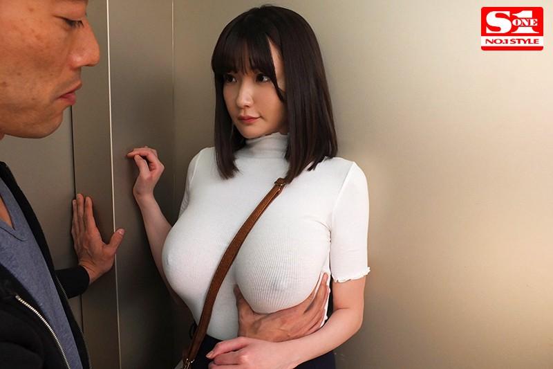 筧ジュン 常にノーブラ透けおっぱいで誘惑する【完全着衣】Jカップお姉さんサンプルイメージ1枚目