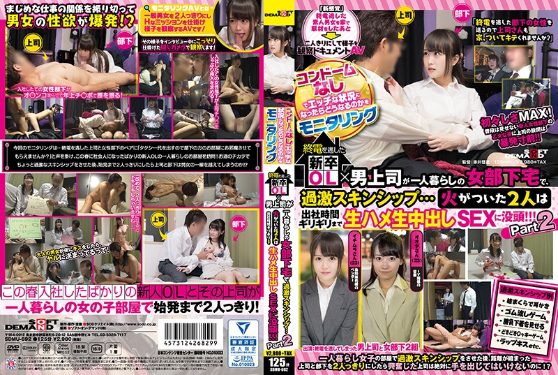 SDMU-692 Monitoring What Happens If There Is No Condoms In The Erotic Situation New Graders Missed The Last Train OL X Male Superiors Skincare At A Female Subordinate Living Alone Extra Skincare Shoes … Two People Who Caught Fire Until The Bare Time Raw Fish Vaginal Cum Shot SEX Immerse! ! !Part 2