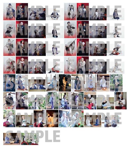 舞台『刀剣乱舞』无伝 夕紅の士-大坂夏の陣- ランダムブロマイド 全60種 5枚セット