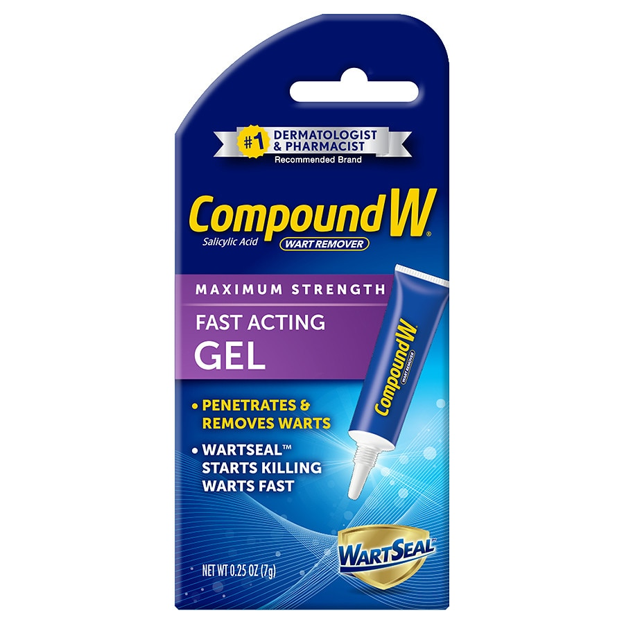 Compound W Wart Remover Fast-Acting Gel | Walgreens
