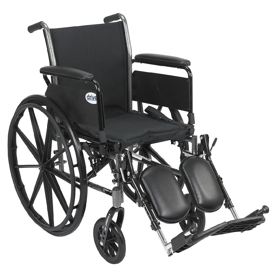 drive wheel chair cover rental dayton medical cruiser iii lightweight wheelchair w flip back removable full arms and leg rest 18 inch1 0 ea