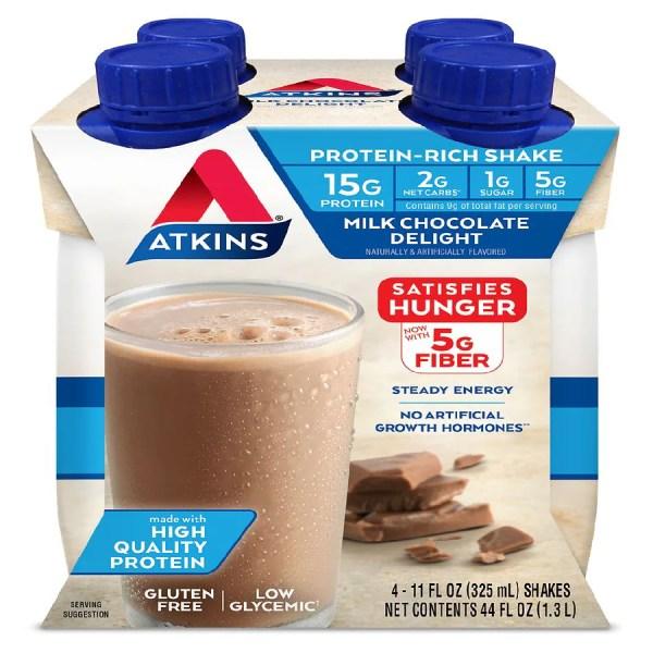 Atkins Shake Milk Chocolate Delight