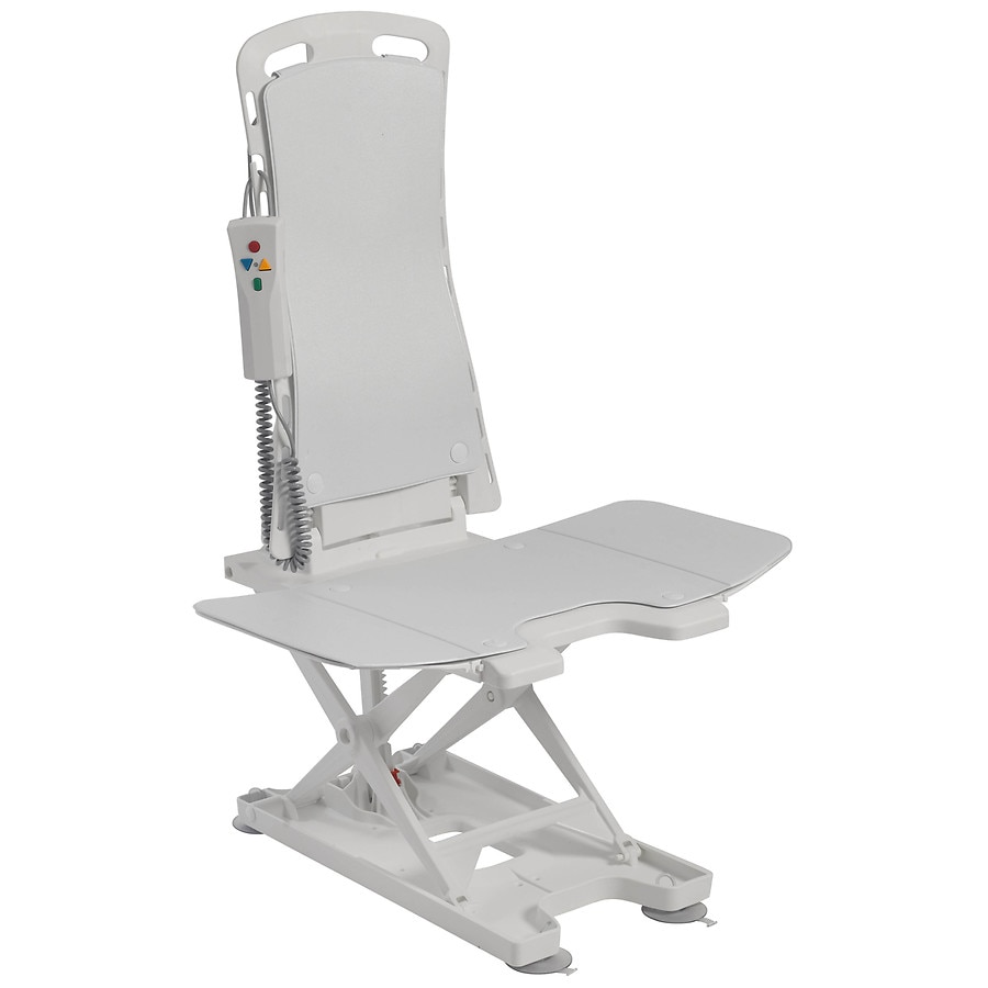 Bath Chair Lift Drive Medical Bellavita Auto Bath Tub Chair Seat Lift White