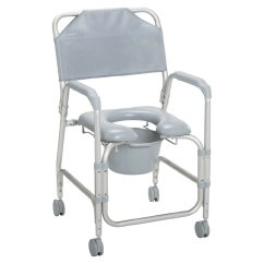 Drive Shower Chair Weight Limit Vanity With Mirror And Medical Lightweight Portable Commode Casters Gray1ea