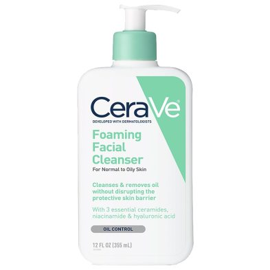 Image result for CERAVE Foaming Face Cleanser for Normal to Oily Skin