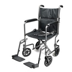 Lift Chair Walgreens Office Chairs With Back Support Everest & Jennings Aluminum Transport 19 Inch Silver |