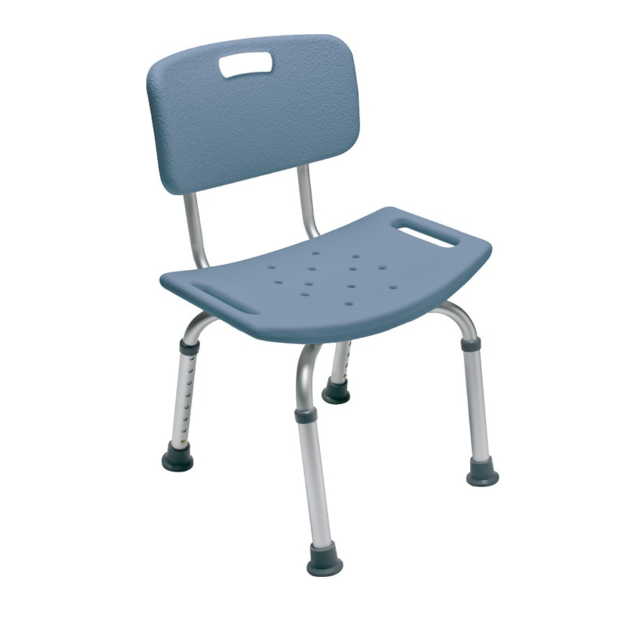 rubbermaid shower chair replacement parts folding mechanism diagram chairs walgreens lumex bath seat with back blue